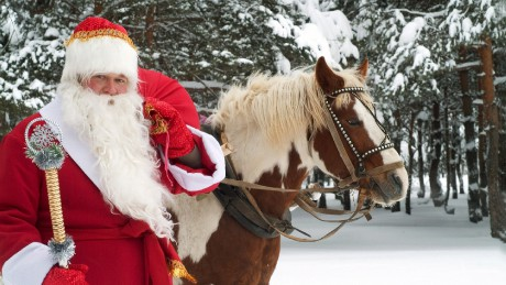 santa-claus-with-a-horse